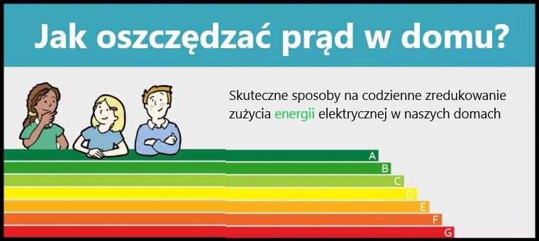 Sposoby jak oszczędzać prąd w domu