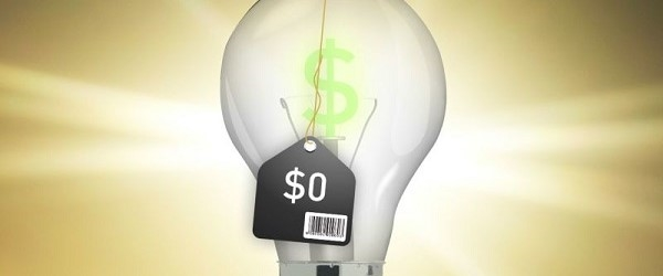 niższe wydatki za prąd